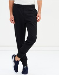 PS by Paul Smith - Drawcord Solid Wool-Blend Trousers