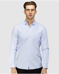 Brooksfield - Micro Square Dobby Business Shirt