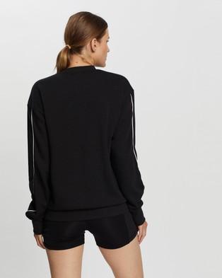 adidas Performance Giant Logo Sweatshirt - Sweats (Black & White)