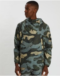 C.P. Company - Pro-Tek Camo Hooded Jacket