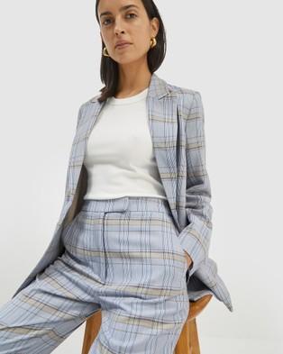 SABA Dani Check Suit Jacket - Blazers (multi)