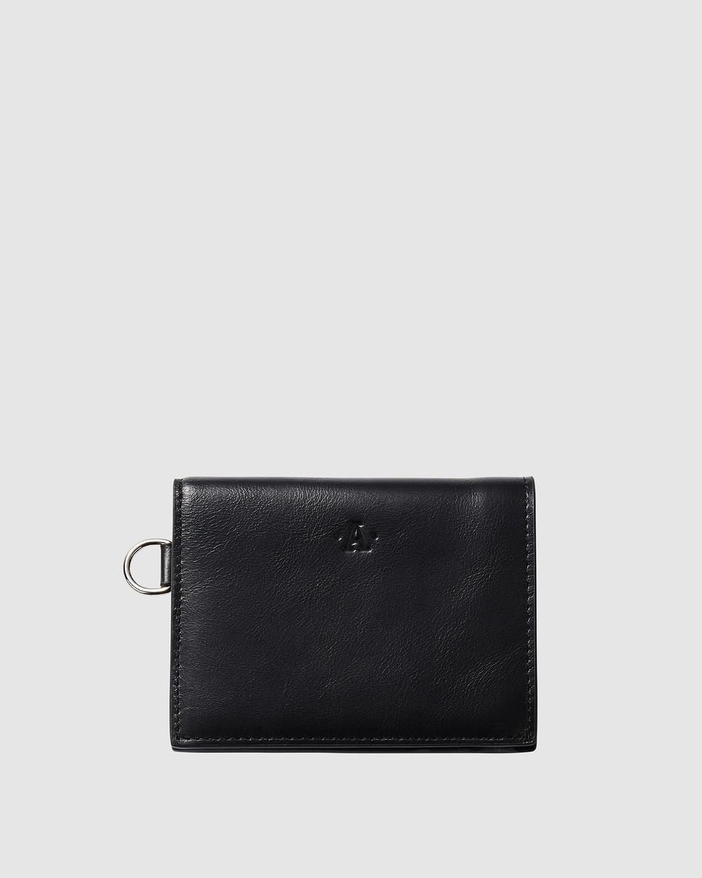 Atlas Lifestyle Co Wallet 04 Wallets Black