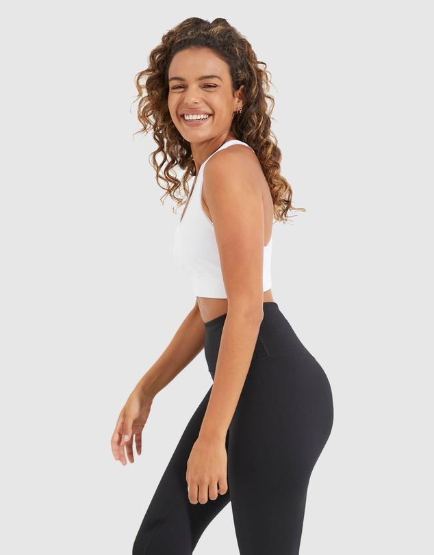 Women Wonder Luxe Narrow Back Sports Bra