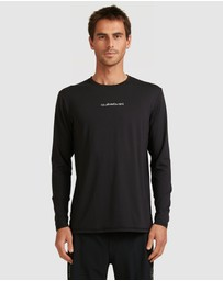 Quiksilver - Mens Omni Rave Long Sleeve UPF 50 Surf T Shirt