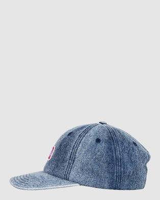 DC Shoes Mens Bashed Out Snapback Cap - Headwear (VINTAGE BLEACH)