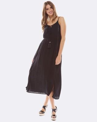Deshabille – Cyprus Dress Black