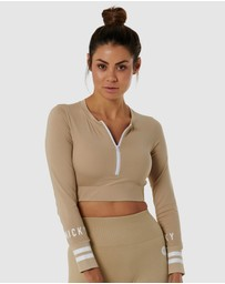 Nicky Kay - Long Sleeve Compression Crop