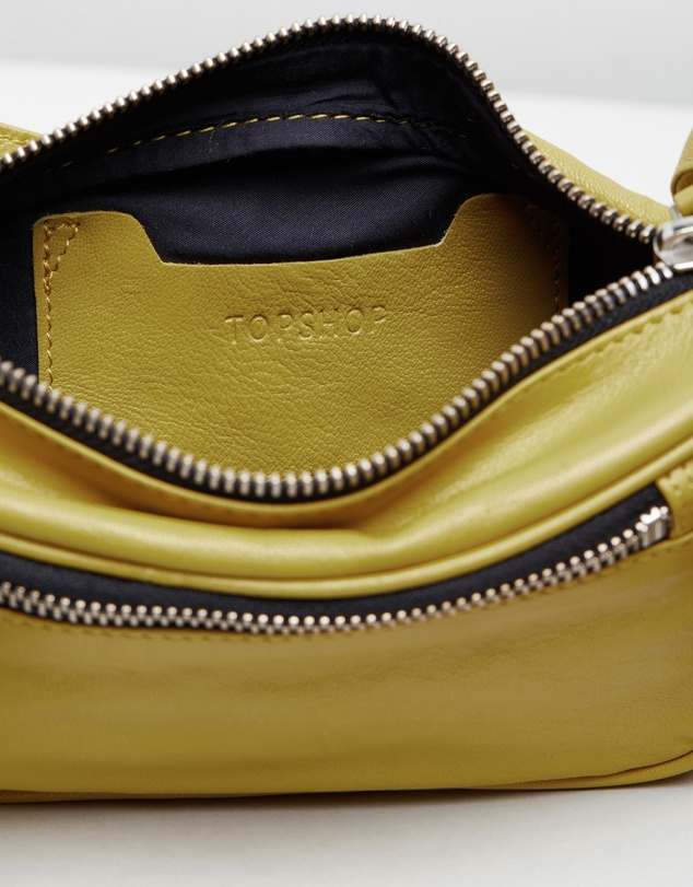 TOPSHOP - Madison Leather Bumbag