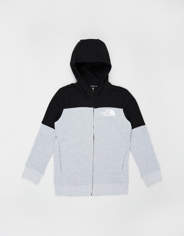 The North Face - B Metro Logo Full-Zip Hoodie-Kids-Teens