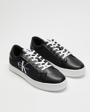 Calvin Klein Jeans - Cupsole Lace Up Sneakers (Black)