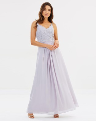 Alabaster The Label – New Romantic Dress – Bridesmaid Dresses Dusty Mauve