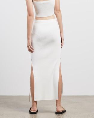 Bec + Bridge Lola Midi Skirt - Pencil skirts (Ivory)