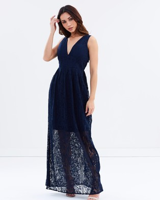 Chi Chi London – Lauryn Dress Navy