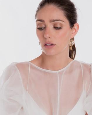 Nikki Witt Serafina Earrings - Jewellery (Gold)