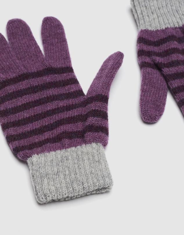 Women Rugby Stripe Gloves