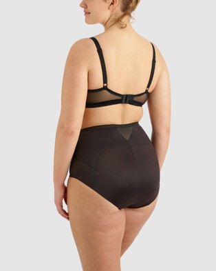 Miraclesuit Shapewear Adjust Fit Waistline Brief PLUS - Lingerie (Black)