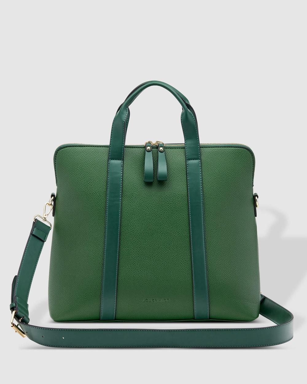 Louenhide Rhodes Laptop Bag Bags Green
