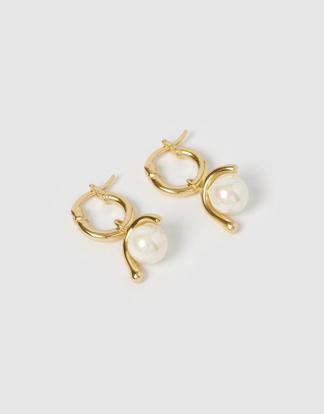 Women Coast Huggie Earrings