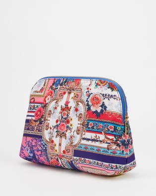 Camilla Large Cosmetic Case - Toiletry Bags (Party In The Palace)
