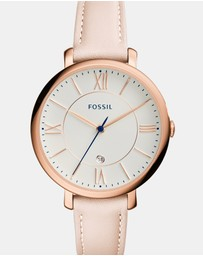 Fossil - Jacqueline White Analogue Watch