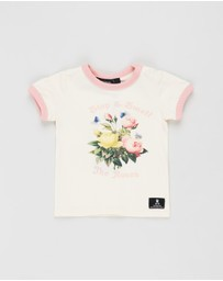 Rock Your Baby - Smell The Roses SS T-Shirt - Babies