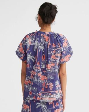 Morrison Mila Shirt - Tops (Kenji Print)
