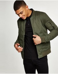 Topman - Stretch Bomber Jacket