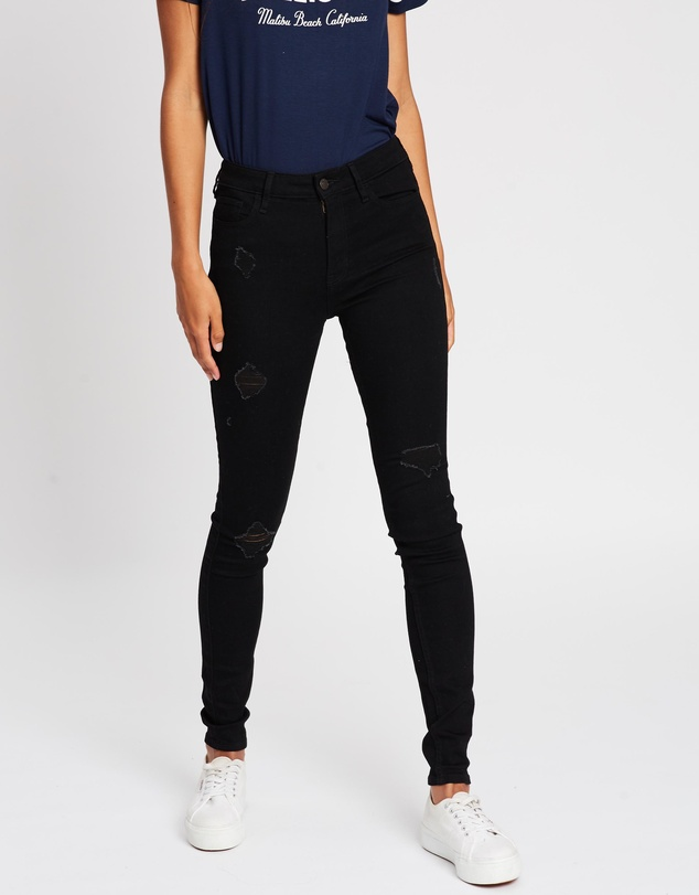 Hollister - Super Skinny Long Leg Jeans