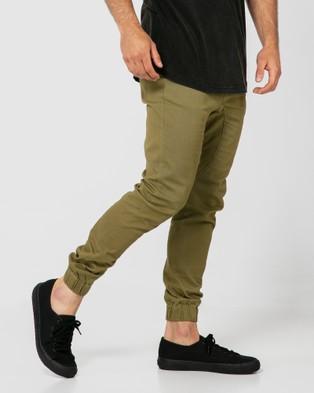 ONEBYONE Edward Chino Pants - Cargo Pants (Khaki)