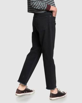 Quiksilver Quiksilver Womens Originals Loose Fit Jean - Jeans (TAP SHOE)