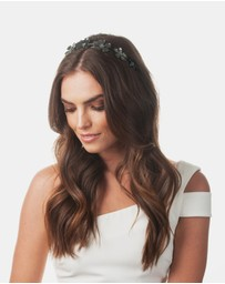 Olga Berg - April Daisy Metal Headband