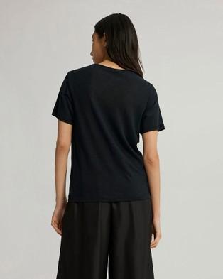 Jac + Jack Cuba Tee - T-Shirts & Singlets (Black)