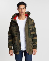 Superdry - Rookie Camo Mix Parka