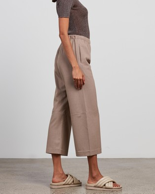 Elka Collective - Shore Pants (Taupe)