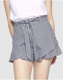 ids - Reign Gingham Shorts