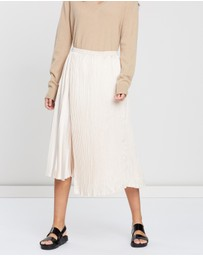 Vince - Mixed Pleat Skirt