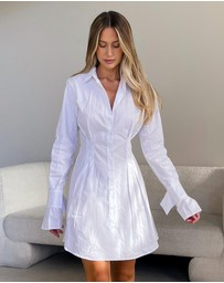 Dazie - Front Row Shirt Dress