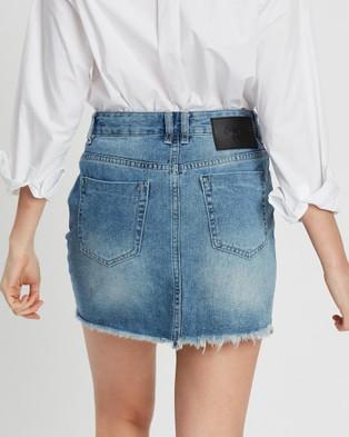 DRICOPER DENIM Vintage Cut Off Skirt - Denim skirts (Rock Steady)