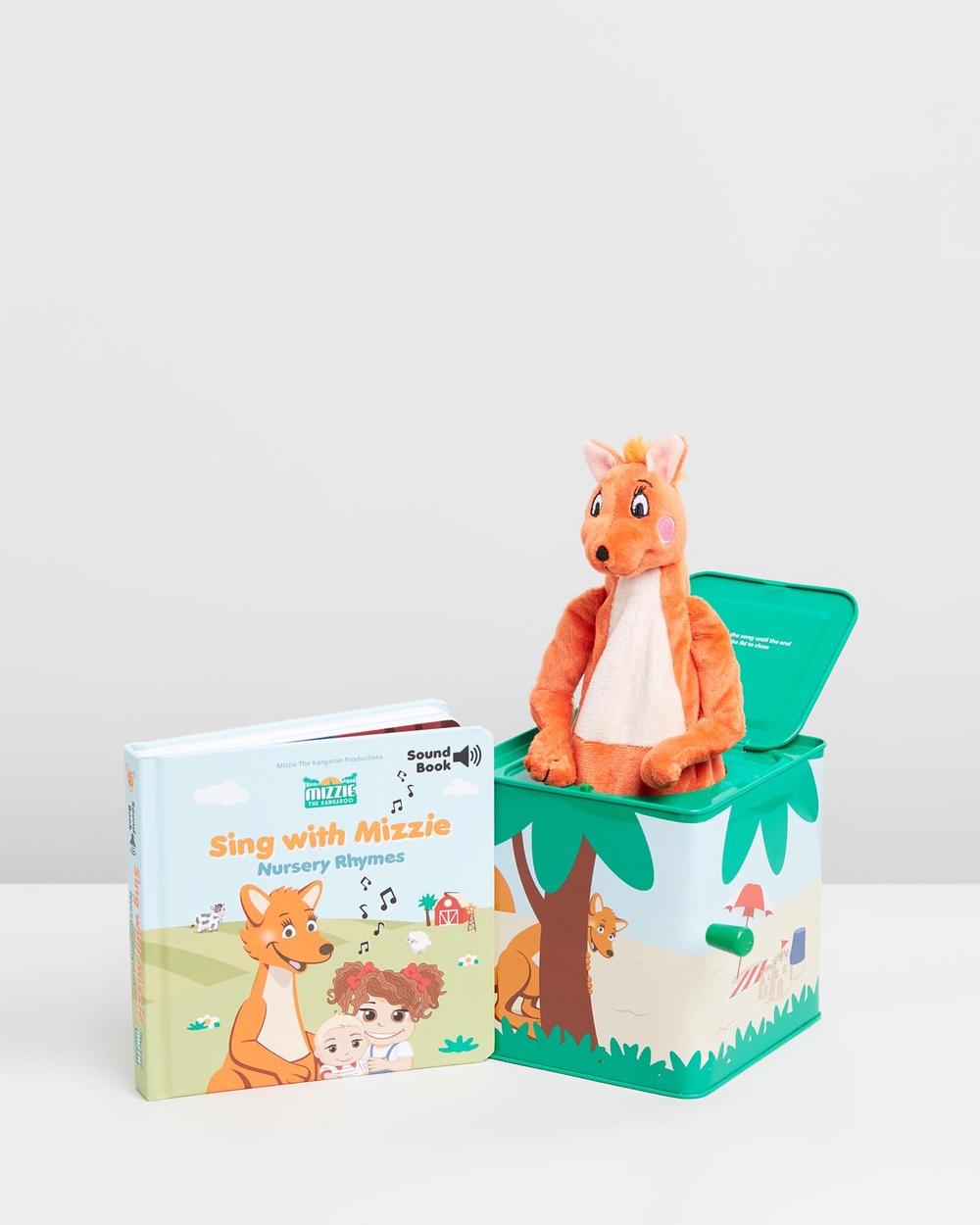 Mizzie The Kangaroo Musical Gift Set All toys Baby Toddler Set