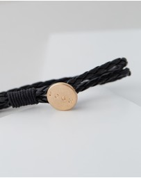Icon Brand - Patterned Cord Bracelet