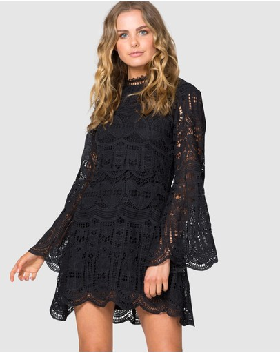 Three Of Something Dutiful Dress Black
