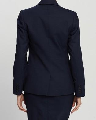 Farage Emille Micro Jacket - Blazers (Navy)