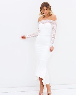 Miss Holly – Diana Dress – Dresses (White)