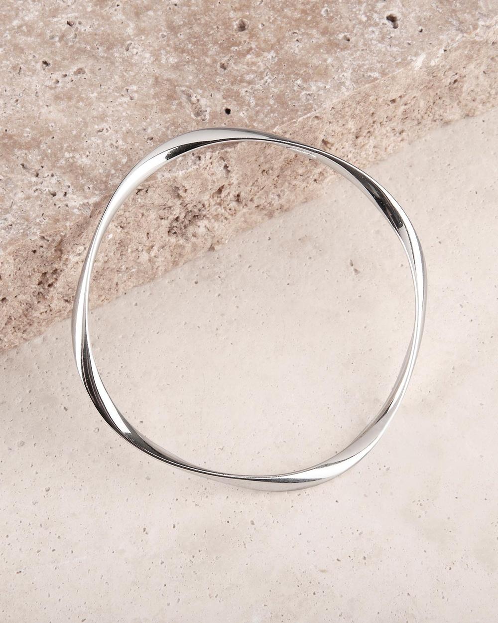 Najo Garden of Eden Bangle Jewellery Silver