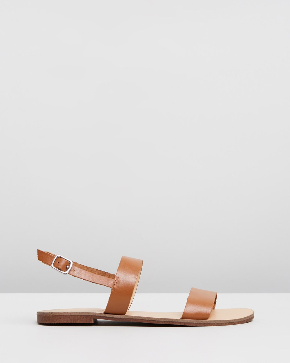 fb948d632 Sandy Leather Sandals by Atmos&Here Online | THE ICONIC | Australia