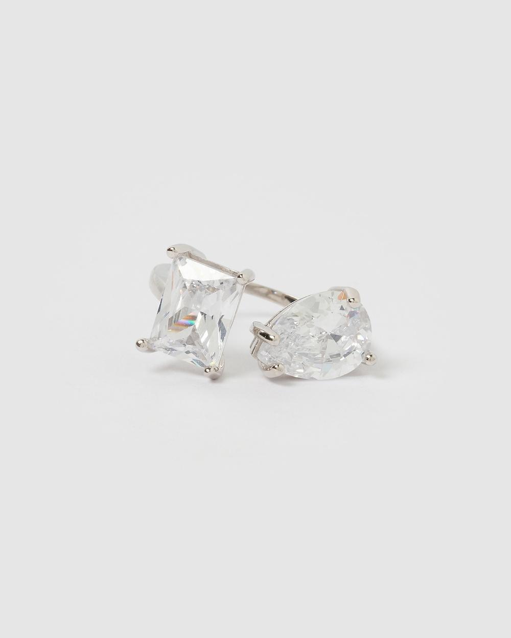 Izoa Charlene Ring Jewellery Silver
