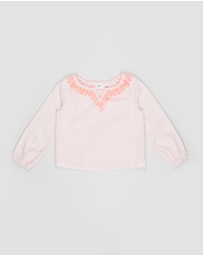 GapKids - Embroidered Top - Teens