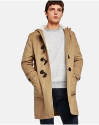 Topman - Duffle Wool Coat