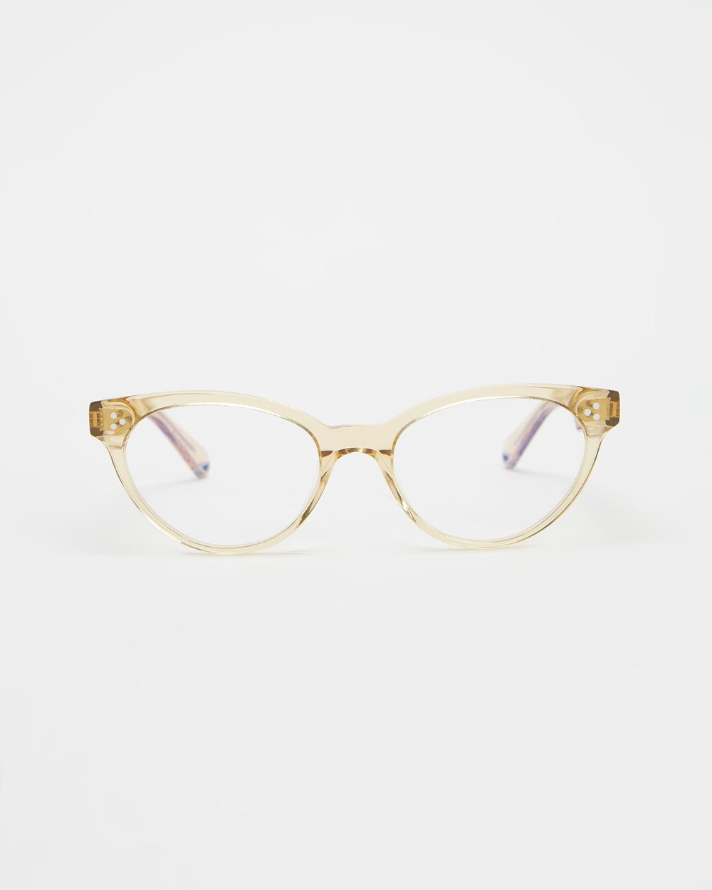 Pacifico Optical Francis Travel and Luggage Champagne with Blue Light Lenses