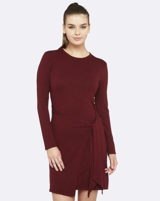 Oxford – Miranda Knitted Dress – Bodycon Dresses (Red)